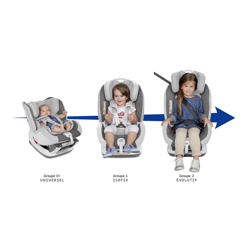 si ge auto seat up grey groupe 0 1 2 45 sur allob b. Black Bedroom Furniture Sets. Home Design Ideas