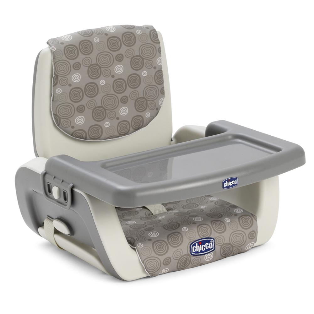 r hausseur de chaise mode grey de chicco en vente chez cdm. Black Bedroom Furniture Sets. Home Design Ideas