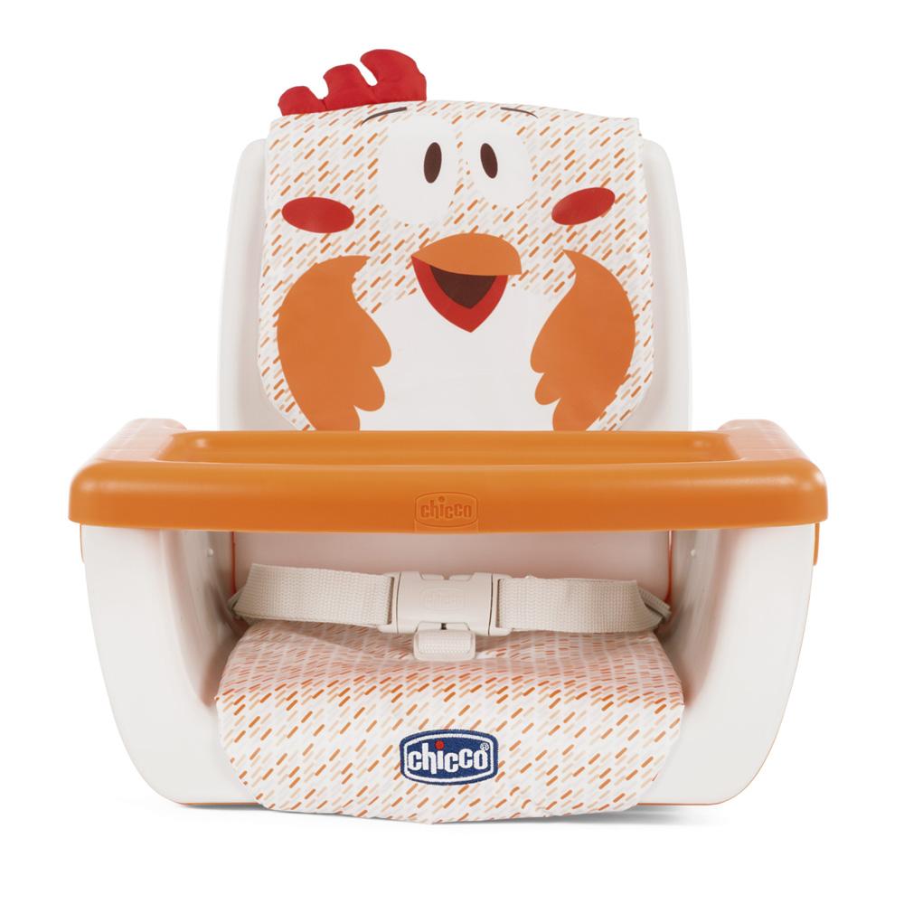 r hausseur de table mode fancy chicken de chicco sur allob b. Black Bedroom Furniture Sets. Home Design Ideas