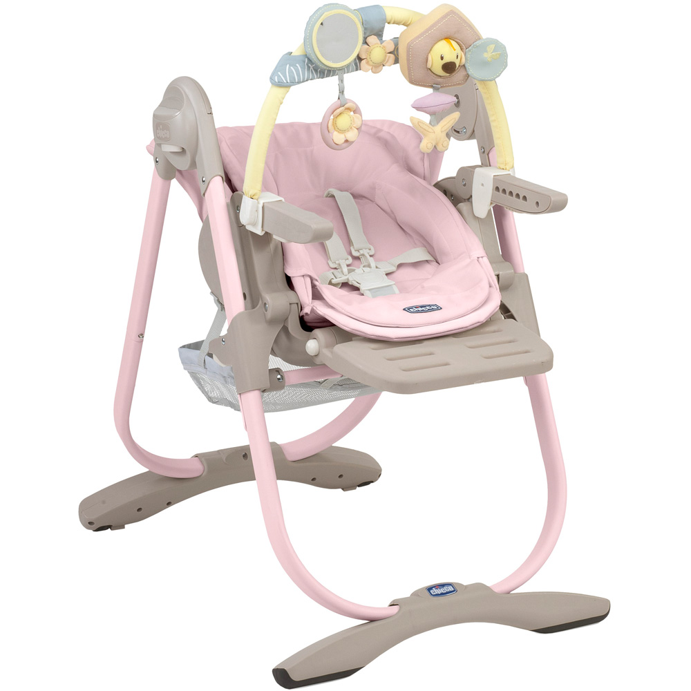 chaise haute polly magic pink 30 sur allob b. Black Bedroom Furniture Sets. Home Design Ideas