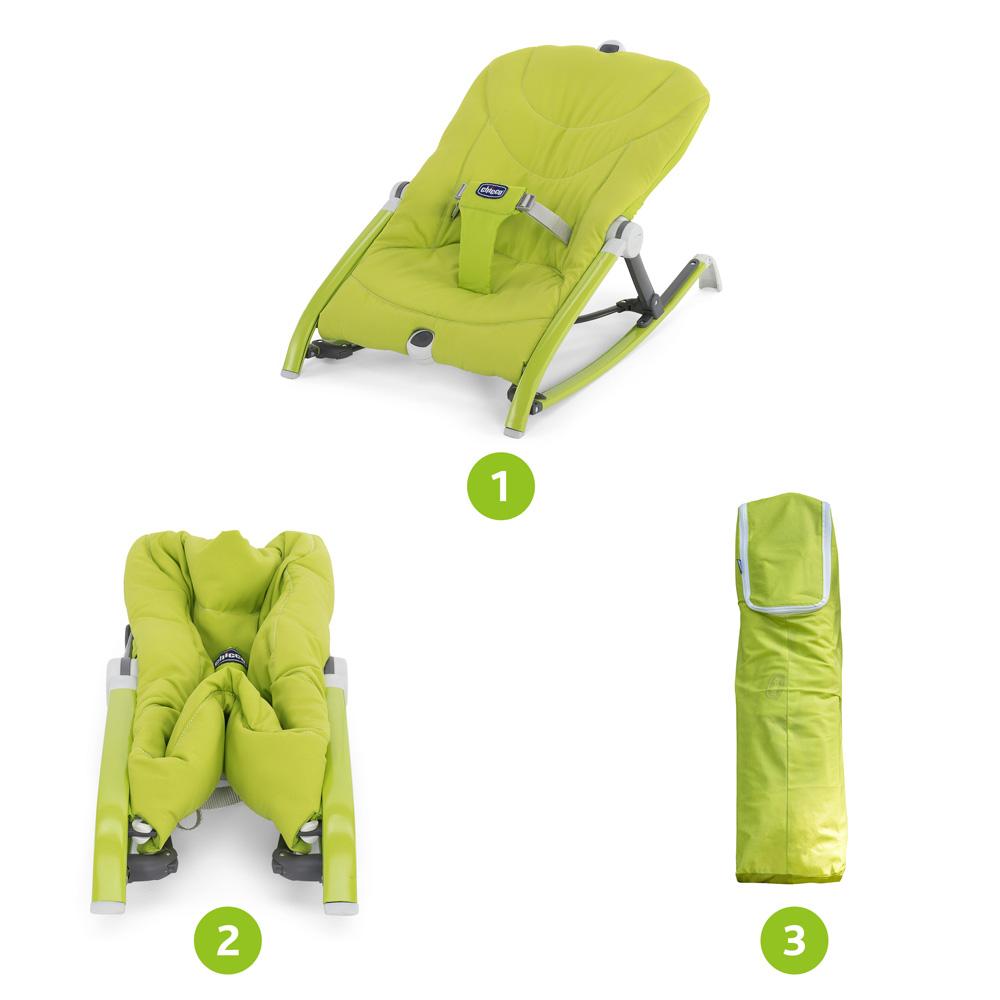 transat b b pocket relax vert de chicco sur allob b. Black Bedroom Furniture Sets. Home Design Ideas