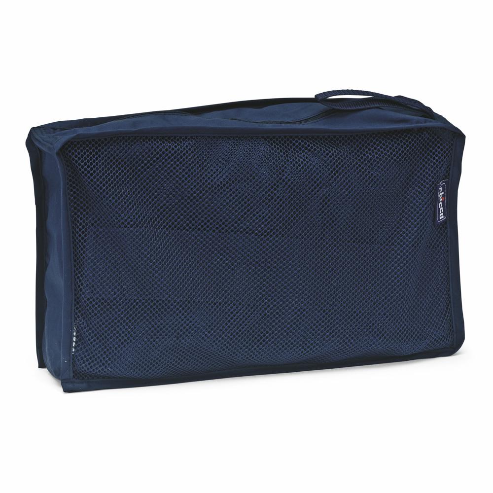 r hausseur lit parapluie blue de chicco chez naturab b. Black Bedroom Furniture Sets. Home Design Ideas