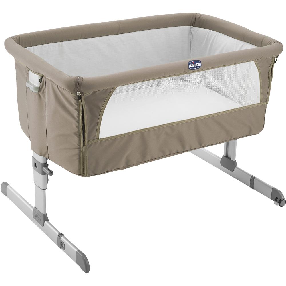 berceau b b next 2 me dove grey de chicco chez naturab b. Black Bedroom Furniture Sets. Home Design Ideas