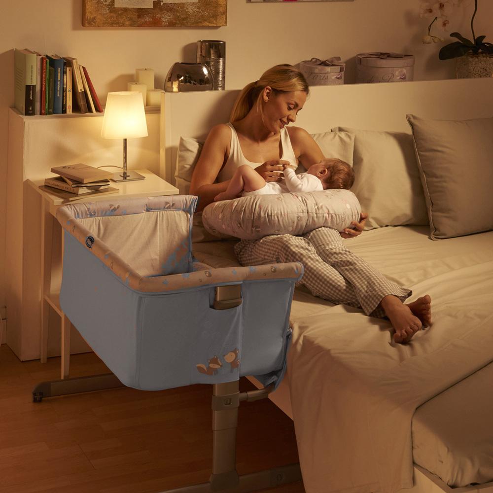 berceau next 2 me sky de chicco. Black Bedroom Furniture Sets. Home Design Ideas