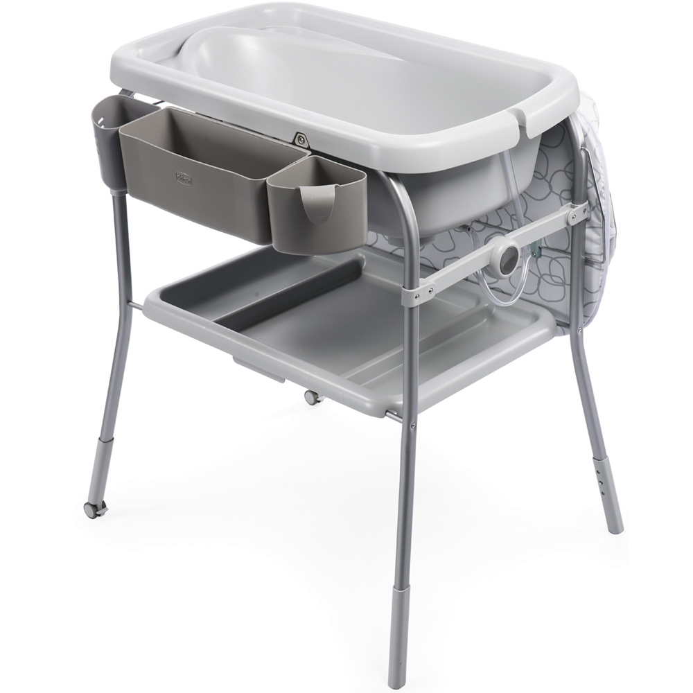 Table langer avec baignoire cuddle bubble sage de - Table a langer compact ...
