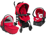 Poussette trio living smart red pas cher