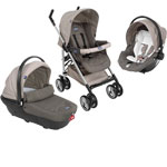 Poussette combiné trio sprint dove grey de Chicco