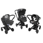 Pack poussette trio i-move top grey pas cher