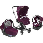 Poussette combiné trio i move top purple de Chicco