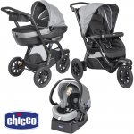 Pack poussette trio activ3 top dark grey