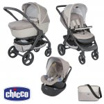 Pack poussette trio stylego up beige