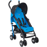 Poussette canne echo light blue pas cher