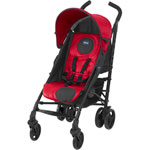 Poussette canne liteway red wave pas cher