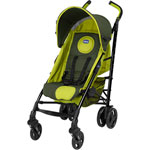 Poussette canne lite way green wave pas cher