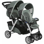 Poussette jumeaux together graphite de Chicco