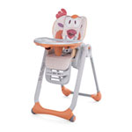 Chaise haute bébé polly 2 start fancy chicken