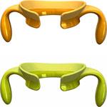 Poignées step up vert/jaune 4 mois+ pas cher