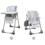 Chaise haute bébé polly 2 en 1 artic pas cher