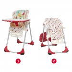 Chaise haute bébé polly 2 en 1 timeless pas cher