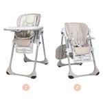 Chaise haute bébé polly 2 en 1 wild pas cher