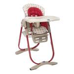 Chaise haute bébé polly magic pois pas cher