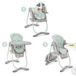Chaise haute bébé polly magic aquarelle pas cher