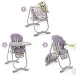 Chaise haute bébé polly magic lilla pas cher