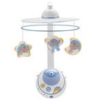 Mobile bébé double projection bleu first dreams