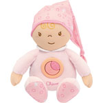 Peluche bébé calinou tendres rêves rose first dreams pas cher