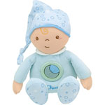 Peluche bébé calinou tendres rêves bleu first dreams pas cher