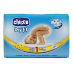 Couches dry fit newborn taille 1  2-5 kg  de Chicco
