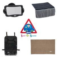 Kit 4 accessoires voyage en voiture