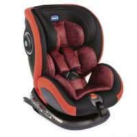Siège auto seat 4 fix poppy red - groupe 0+/1/2/3