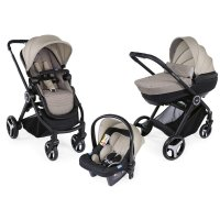 Pack poussette trio best friend comfort beige