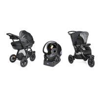 Pack poussette trio activ3 top jet black