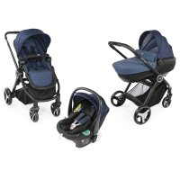 Pack poussette trio best friend + comfort i-size oxford