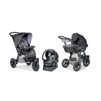 Pack poussette trio activ3 top grey