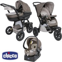 Pack poussette trio activ3 top dove grey