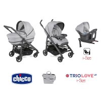 Pack poussette trio love up i-size pearl
