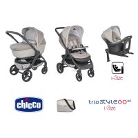 Pack poussette trio stylego up i-size beige