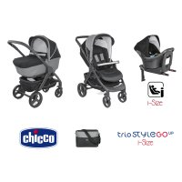Pack poussette trio stylego up i-size jet black