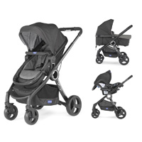 Pack poussette trio urban plus anthracite