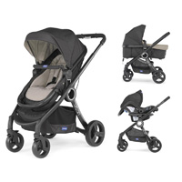 Pack poussette trio urban plus dune