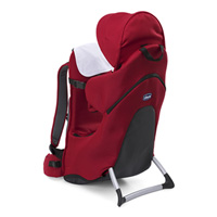 Porte bébé dorsal finder red