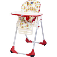 Chaise haute bébé polly easy sunrise