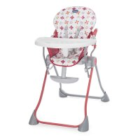 Chaise haute bébé pocket meal red