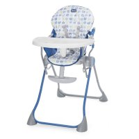 Chaise haute bébé pocket meal blue