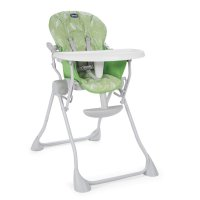 Chaise haute bébé pocket meal summer green
