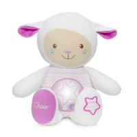 Peluche musicale mouton tendres mots doux rose first dream