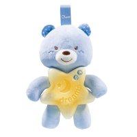Veilleuse bébé petit ourson bleu